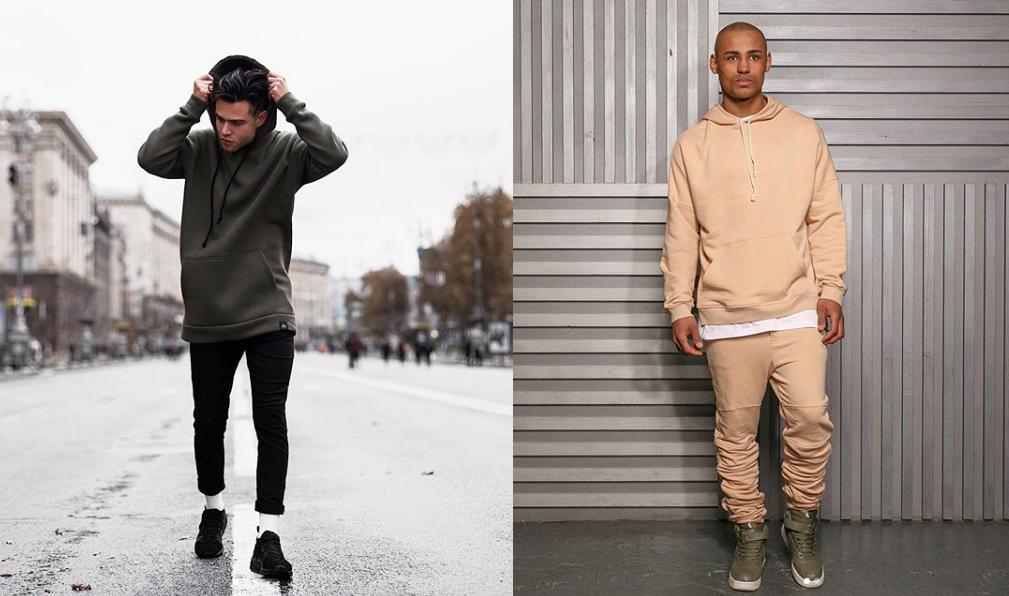 Бренд виробляє зручний одяг спортивного стилю в стриманих однотонних  кольорах. Наприклад 4d2e0ea727d1e