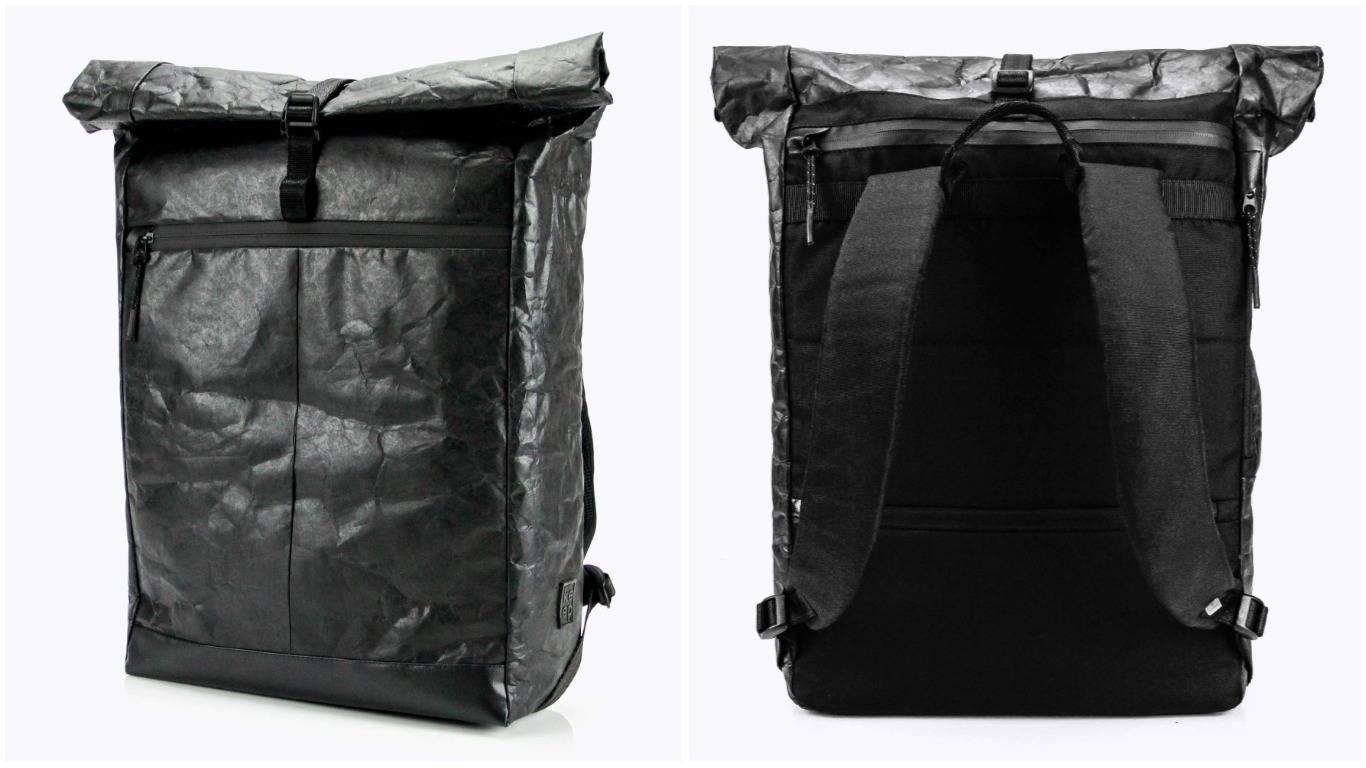 797651f3543b Этот ролл-топ Podil - результат совместного эксперимента бренда Keep с  design buro spiilka. У него есть потайной карман на спинке, отделение для  ноутбука, ...