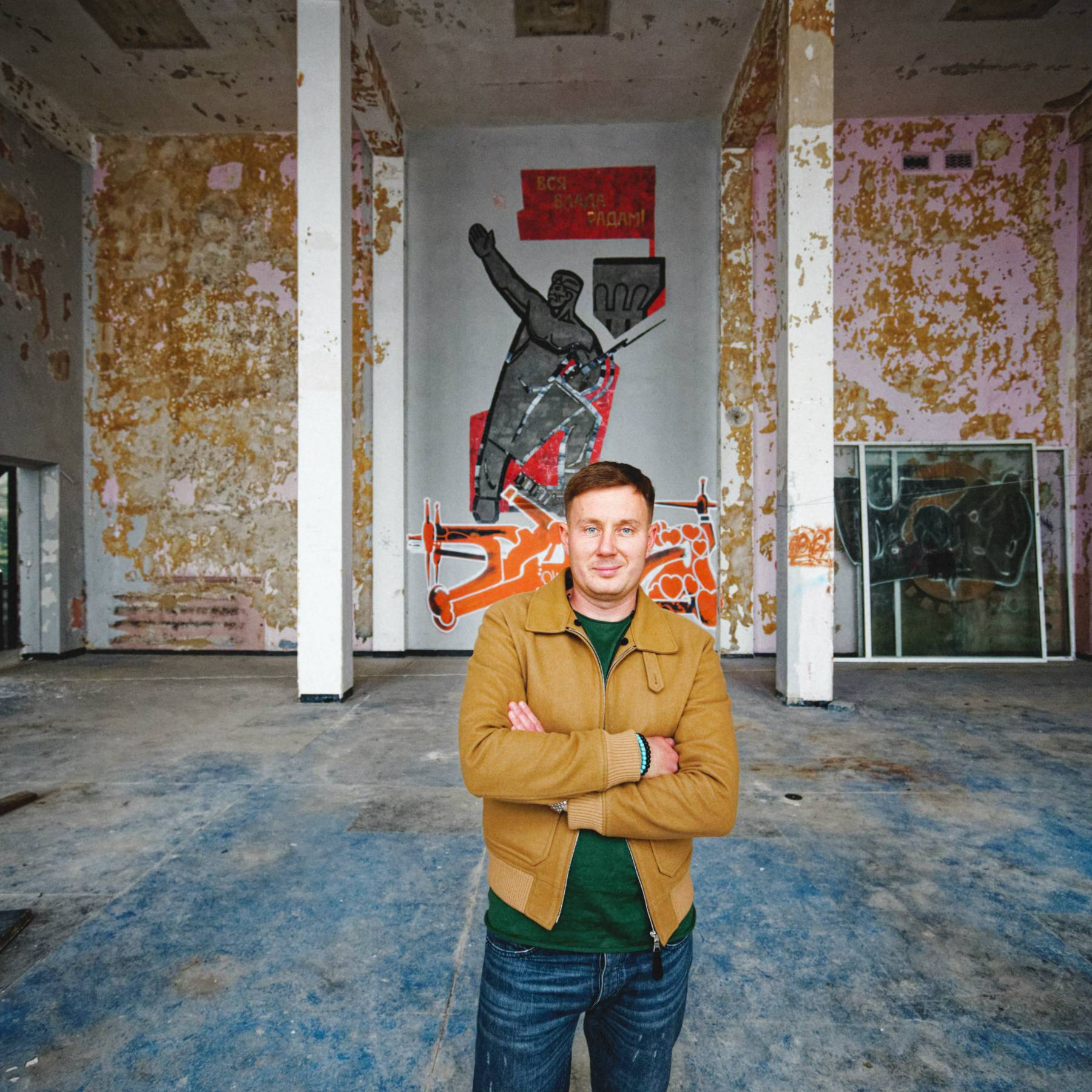 Роман Тугашев фуд-холл Бухта на Подоле