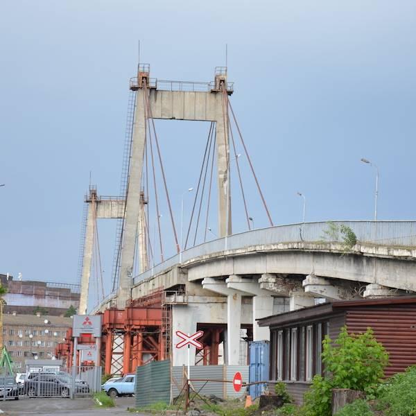 рыбальский мост