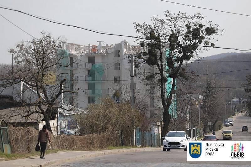 львов демонтировали многоэтажку