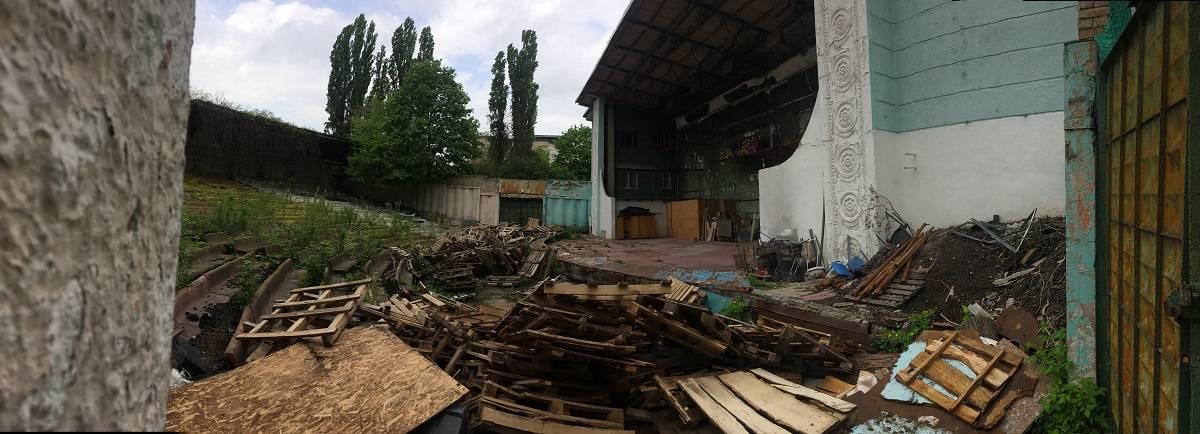 """Зеленый театр"" на Нивках"