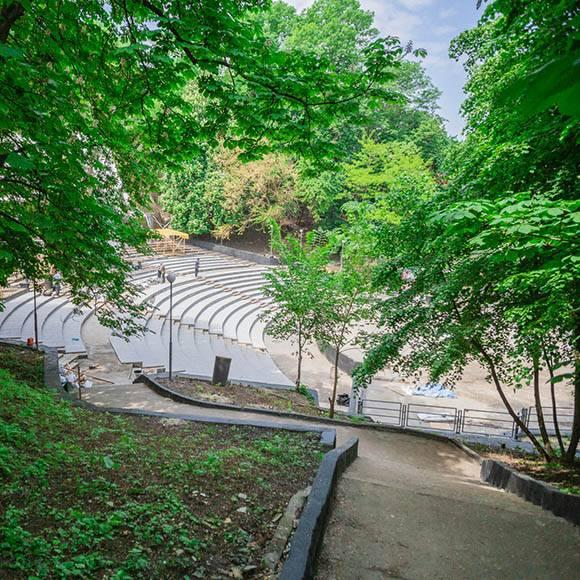 открытие зеленый театр