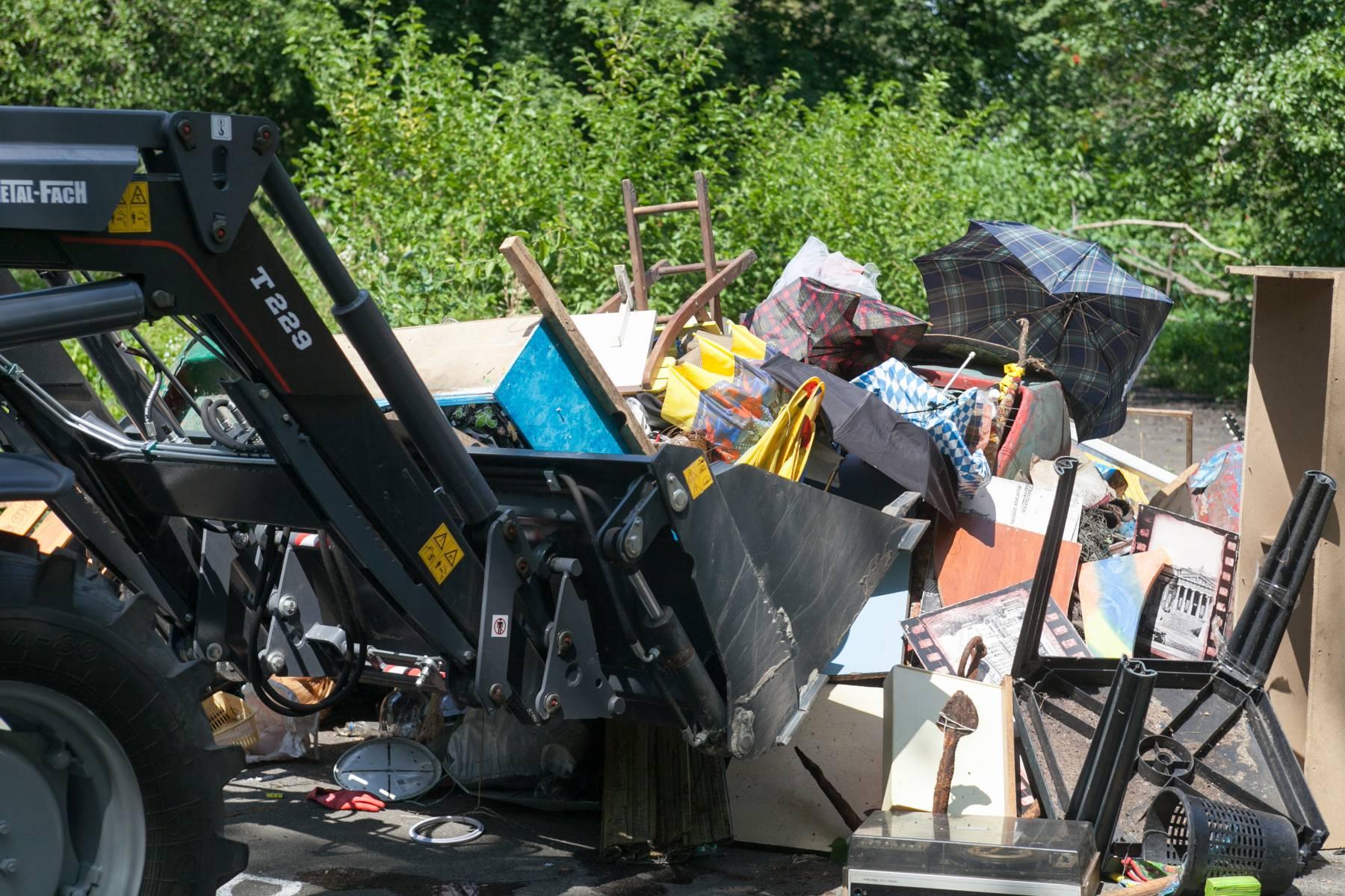 уборка, мусор