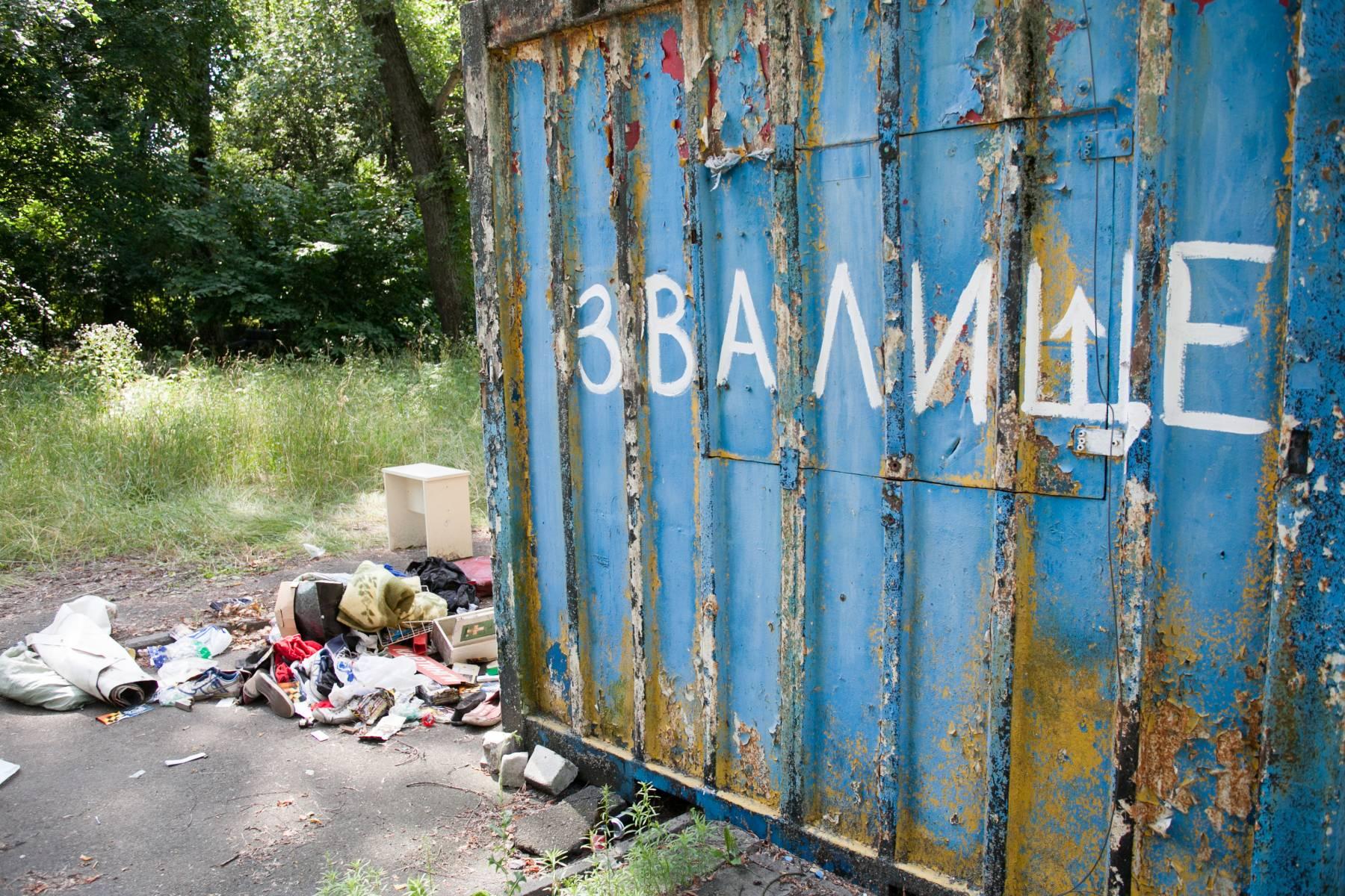 Киев, уборка