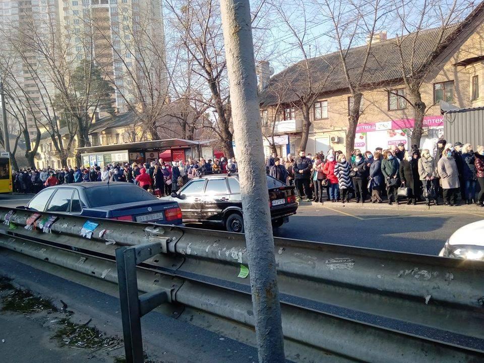 киев не работает метро