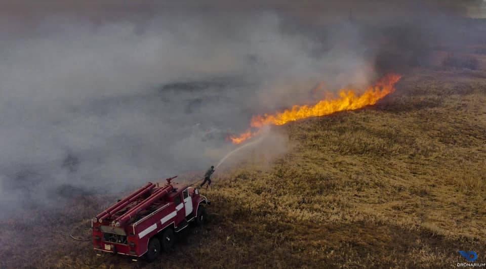 чернобыль пожар