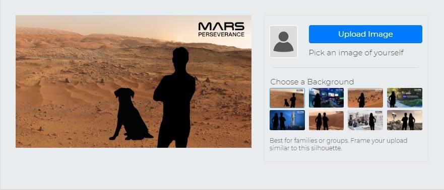 Селфі на Марсі