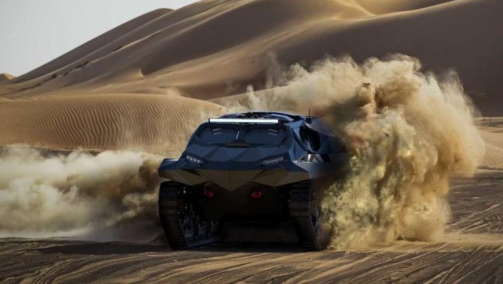 військовий електромобіль